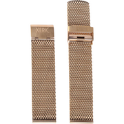 Xeric 22mm Rose Gold PVD Plated Mesh Strap