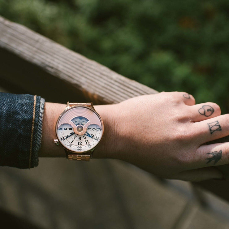 Xeric Evergraph Automatic SS Limited Edition Rose Gold