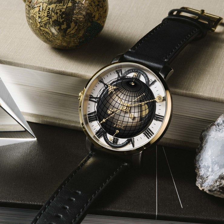 Xeric Atlasphere GMT Gold Limited Edition