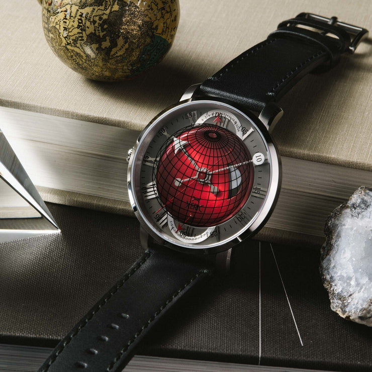 Xeric Atlasphere GMT Red Limited Edition