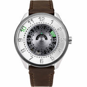 Cypher Automatic Tritium Silver Green Limited Edition
