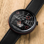Xeric Halograph II Automatic Black Red Limited Edition