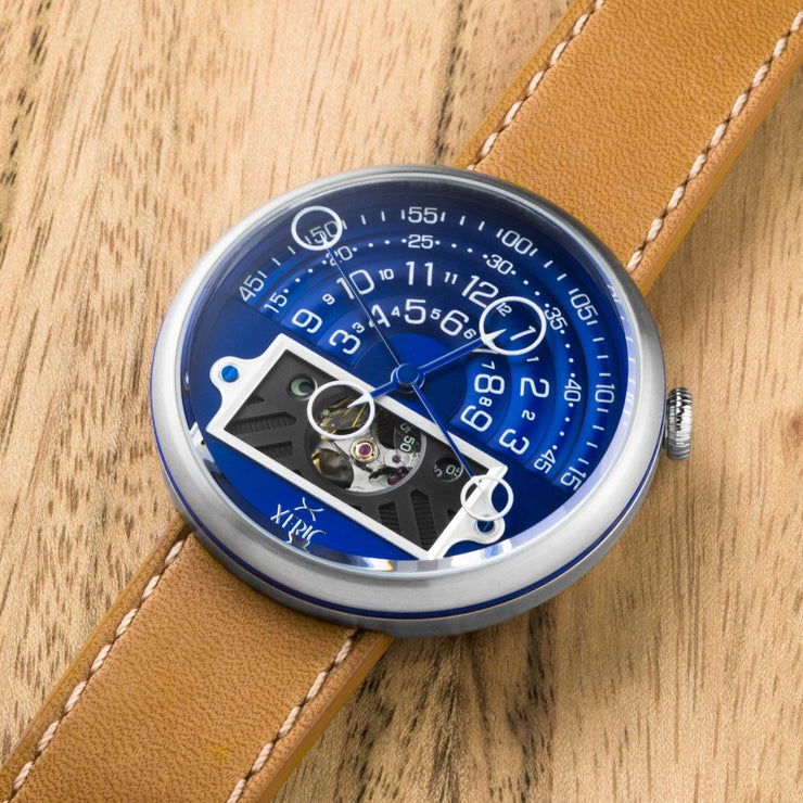Xeric Halograph II Automatic Navy Tan Limited Edition