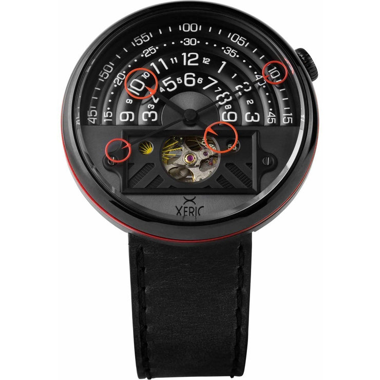 Halograph II Automatic Limited Edition Black Red
