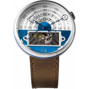 Halograph II Automatic Limited Edition Blue Brown