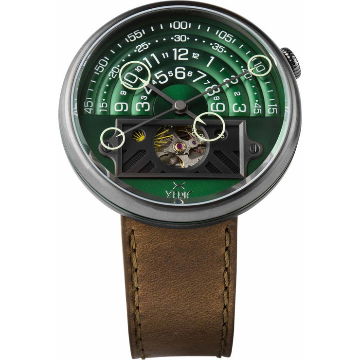Halograph II Automatic Limited Edition Green Brown