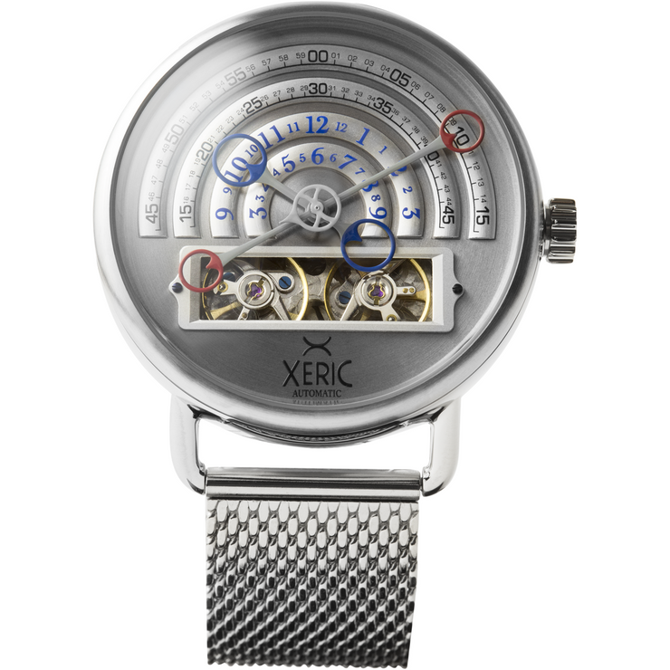Halograph Automatic Mesh Silver