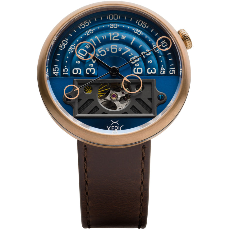 Halograph II Automatic Bronze Blue Limited Edition