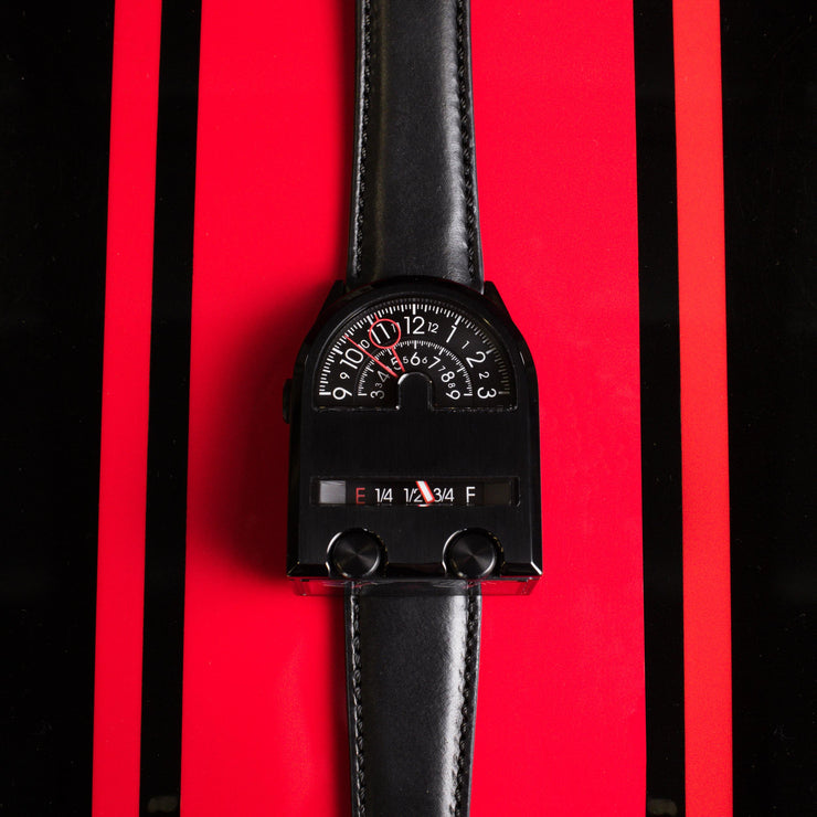 Leadfoot Automatic Black Red Limited Edition