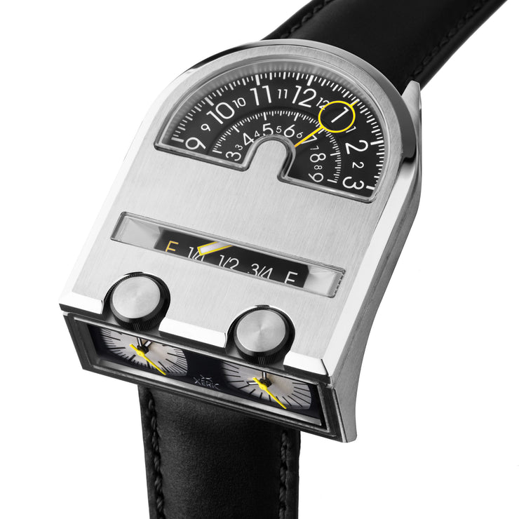 Leadfoot Automatic Silver Black Limited Edition