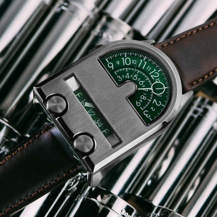 Leadfoot Automatic Gunmetal Green Limited Edition