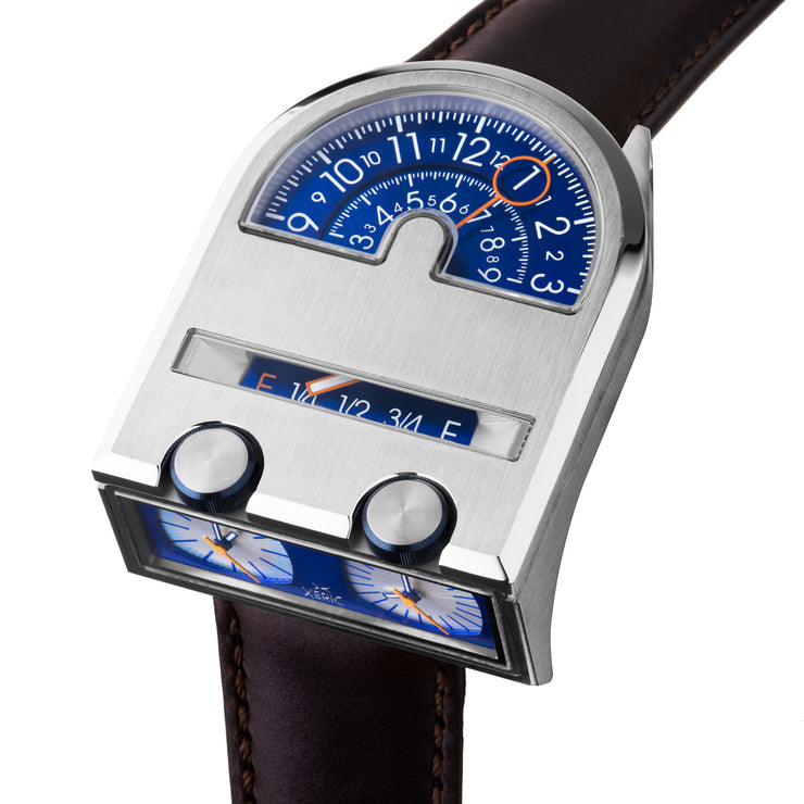 Leadfoot Automatic Silver Navy Limited Edition