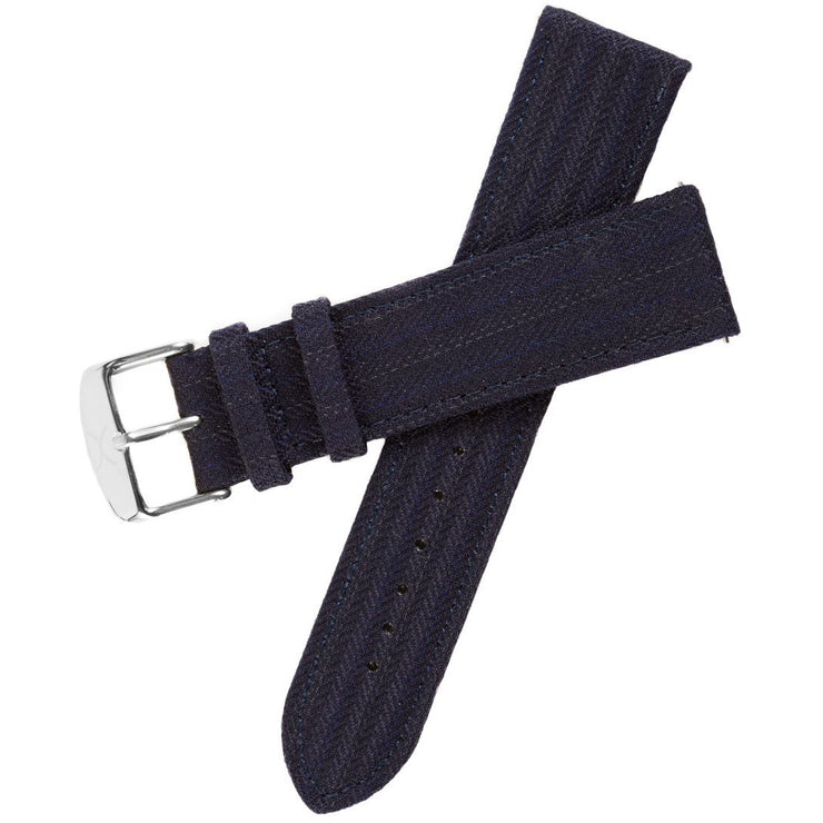Xeric Savile Row 20mm Navy Classic Worsted