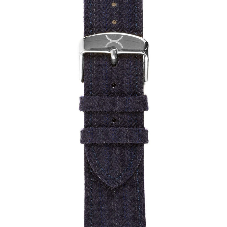 Xeric Savile Row 24mm Navy Classic Worsted