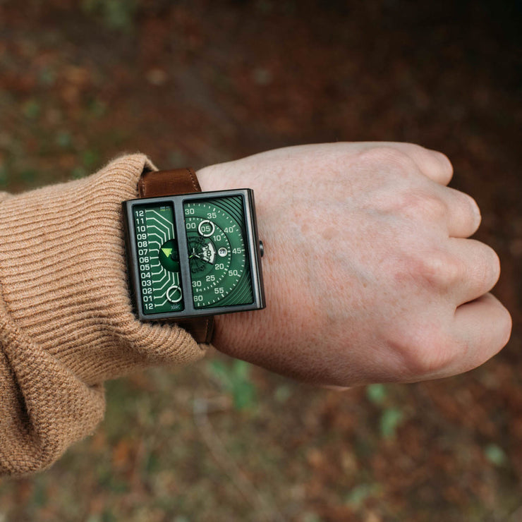 Soloscope II Automatic Gunmetal Green