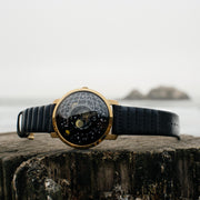 Trappist-1 Moonphase Gold Black