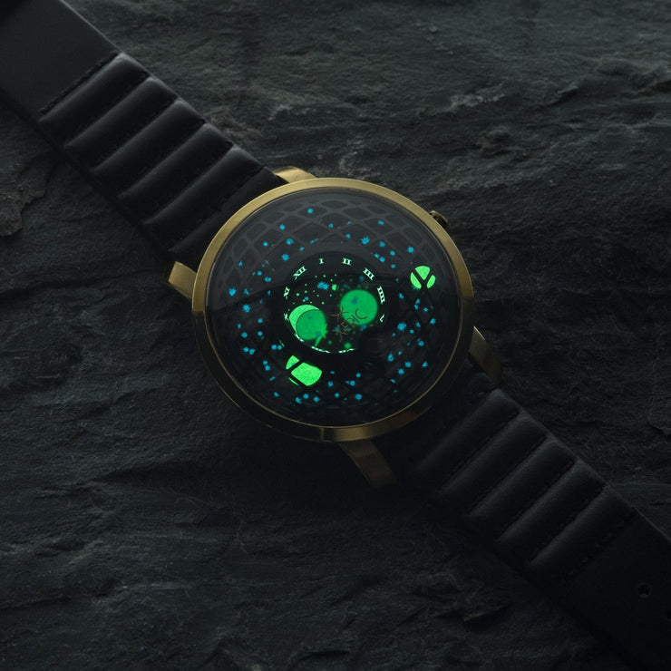 Xeric Trappist-1 Moonphase Gold Black