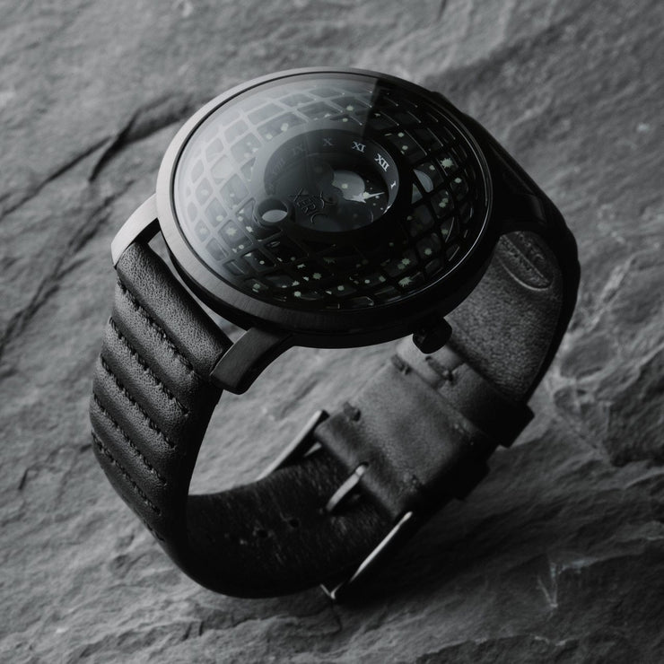 Xeric Trappist-1 Moonphase Black Hole