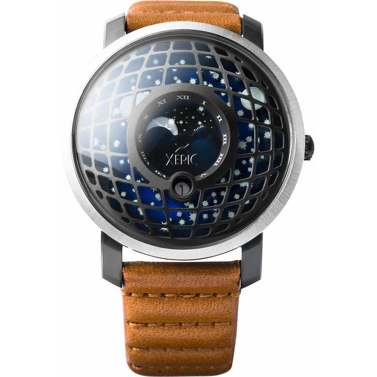 Trappist-1 Moonphase Gunmetal Blue