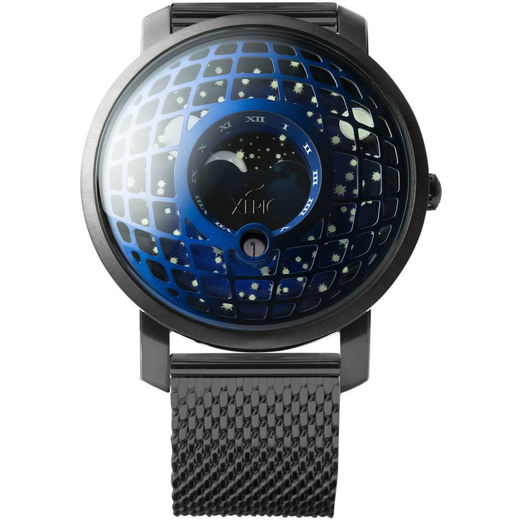 Trappist-1 Moonphase Blue IP Mesh