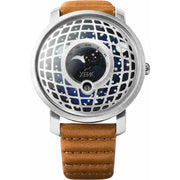 Trappist-1 Moonphase Silver Blue
