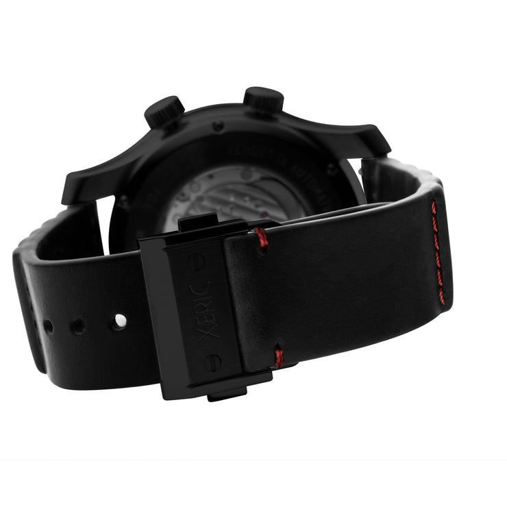 Vendetta Automatic Wandering Hour All Black Red