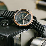 Vendetta Automatic Wandering Hour Rose Gold Black xeric
