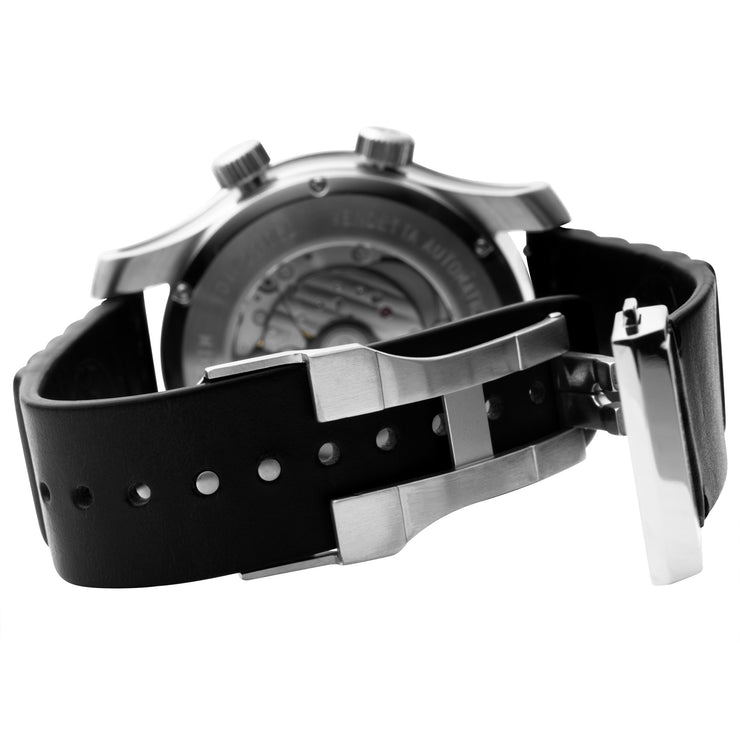 Vendetta Automatic Wandering Hour Silver