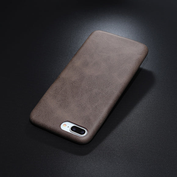 leather texture case brown Iphone