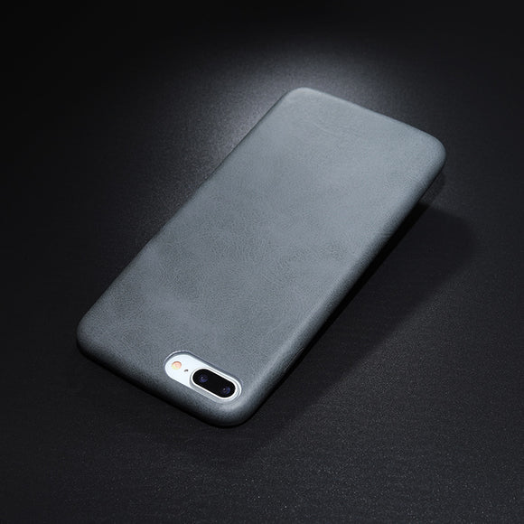 leather texture case grey Iphone