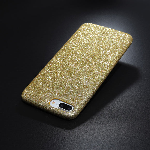 Glitter case gold Iphone