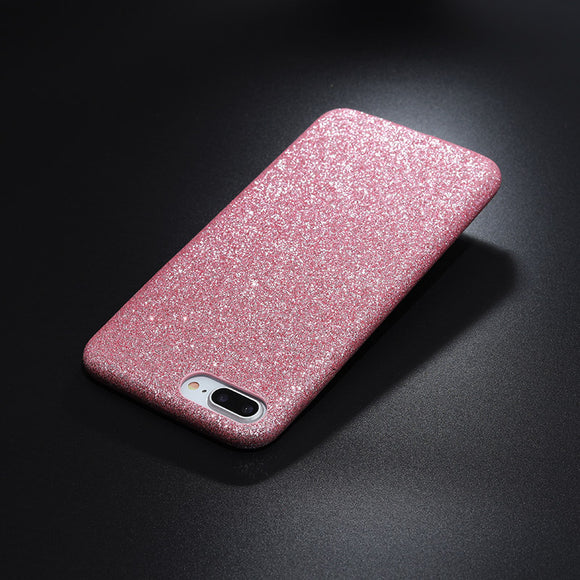 Glitter case pink Iphone