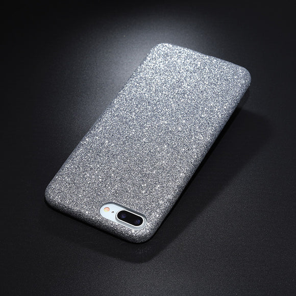 Glitter case silver Iphone