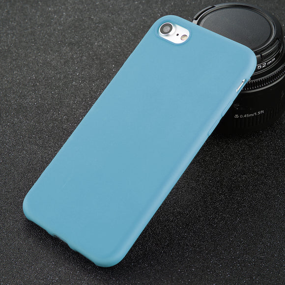 Smooth case blue Iphone