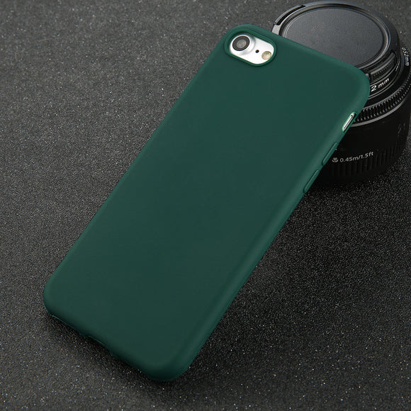 Smooth case green Iphone