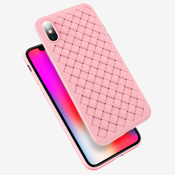 Woven case pink Iphone