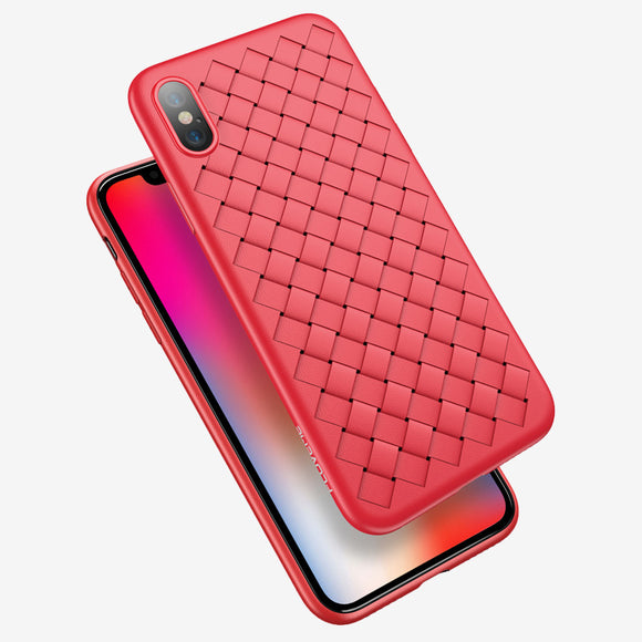 Woven case red Iphone