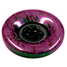 Buttons - Marbled 4 hole 23mm Purple/Black