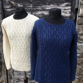 Patterns - Knitting Pattern Aldwark Jumper