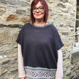 Patterns - Knitting Pattern Cracking The Flag Fair Isle Short Sleeved Jumper