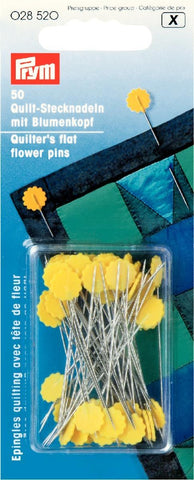 Notions & Haberdashery - Prym Quilters Flat Flower Pins