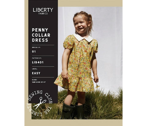 Patterns - Liberty Dressmaking Child's Penny Collar Dress