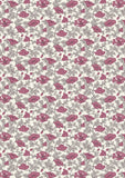 Liberty Fabric - Winterbourne Collection - Nina Poppy Pink