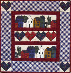 Quilt Kit - Hearts and Home