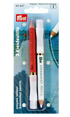 Notions & Haberdashery - Prym Chalk Pencils and Brush