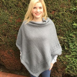 Patterns - Knitting Pattern Poncho