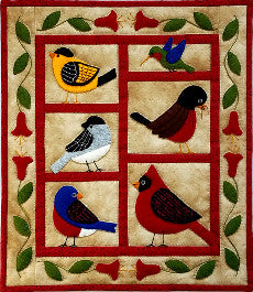 Quilt Kit - Backyard Birds