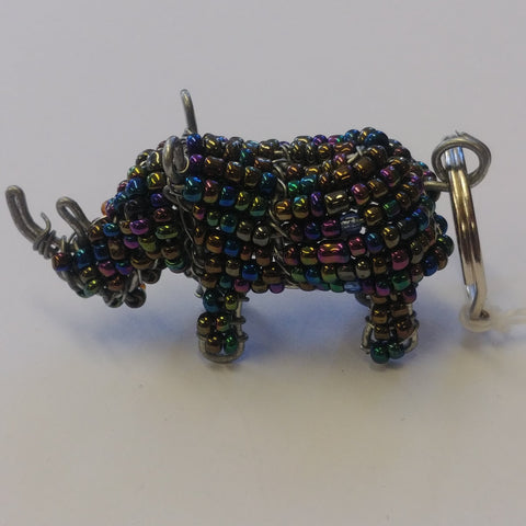 Gifts - Hand Beaded Safari Animal Keyrings