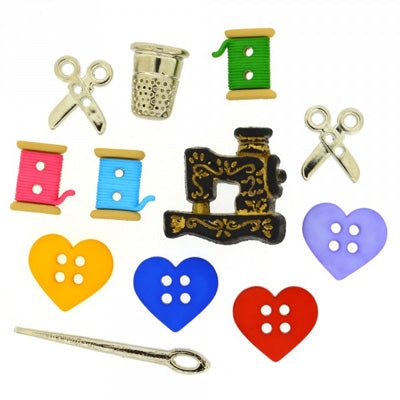 Buttons - Sewing Room Novelty Buttons