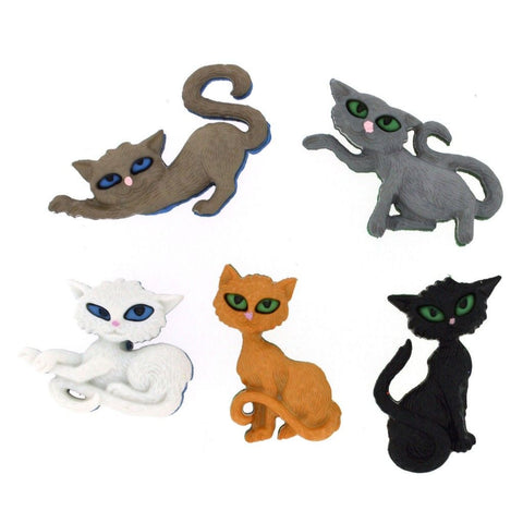 Buttons - Novelty Cats, Dogs, Birds and Ducks